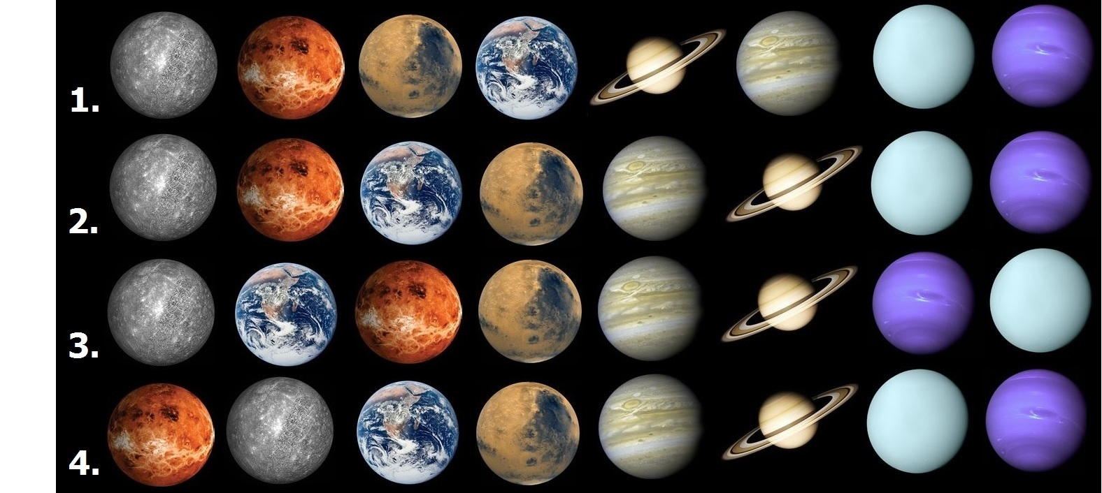 Planet facts and stats from EightPlanetsorg